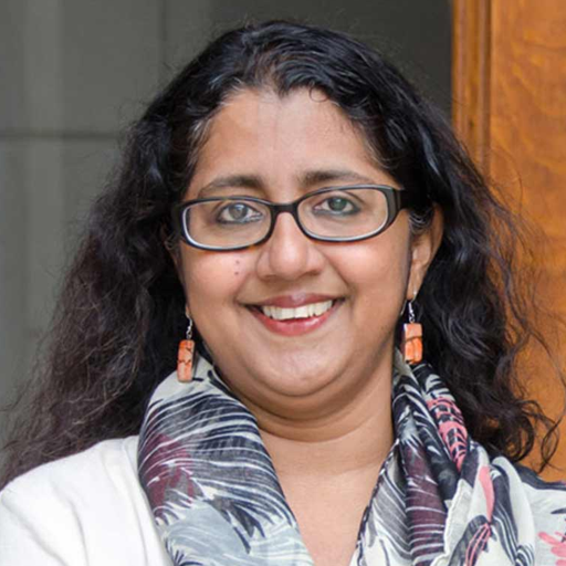 This is a profile image of Radhika Parameswaran.