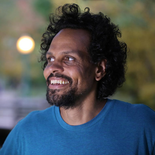 This is a profile image of Ross Gay.